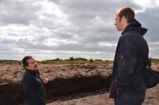 Learning about regional peat exploitation...