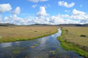 A river of central Tierra del Fuego...