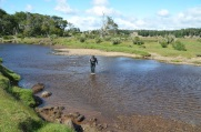 Crossing the Rio Grande...!
