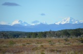 A view towards the southern Andes...