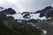 The Ushuaia snout glacier...